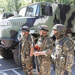 Новое обмундирование Украины, АТО